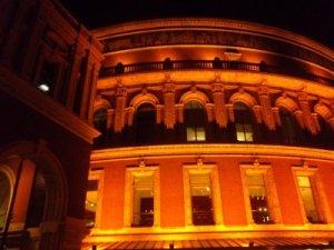Die Royal Albert Hall - na gut, nur ein Teil davon...