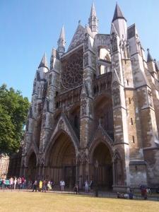 """Der """"Seiteneingang"""" von Westminster Abbey"""