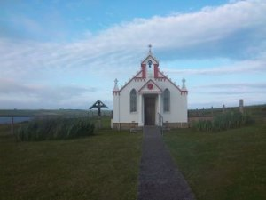 The Italian Chapel - unwirkliche Szenerie