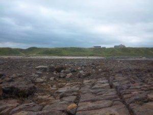 Das rettende (trockene) Ufer ist ziemlich weit weg