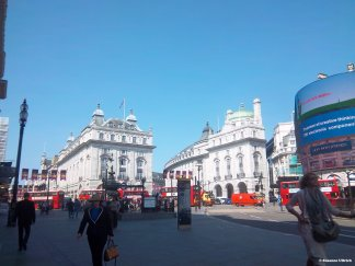 Am Piccadilly Circus
