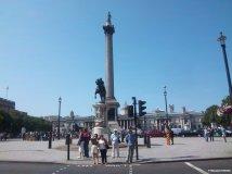 Trafalgar Square mit der Nelson-Statue