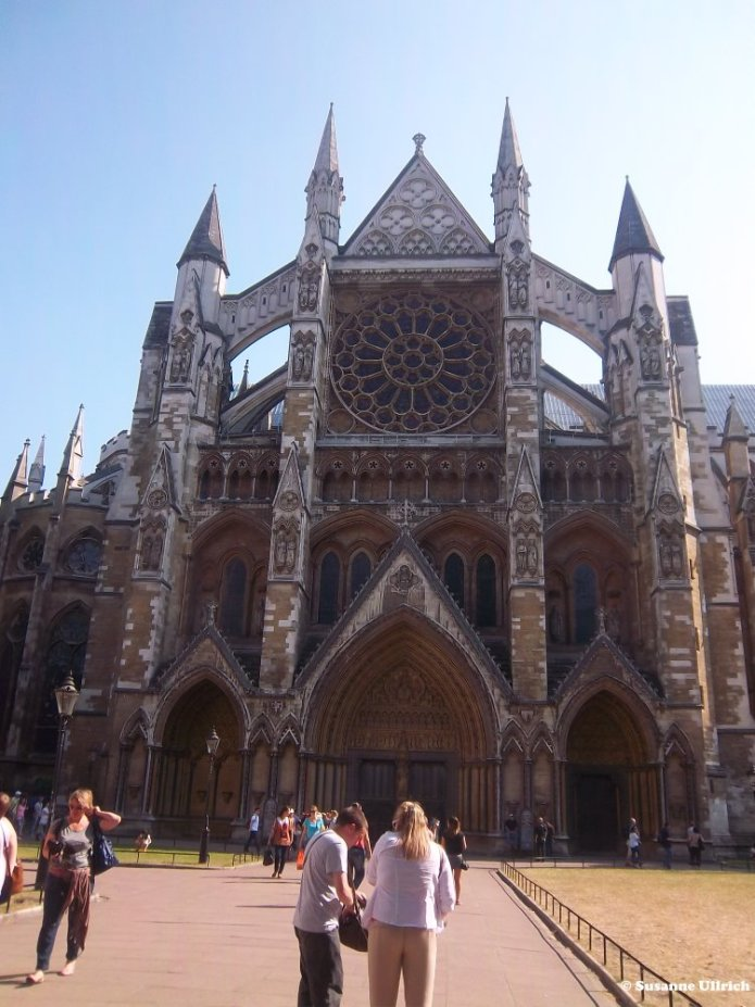 Westminster Abbey, der Seiteneingang