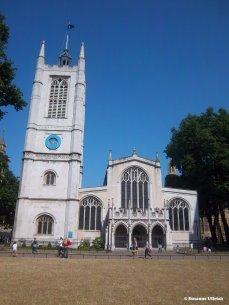 St. Margareths Church direkt neben Westminster