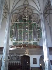 Die Sonnenorgel in der Peter-und-Paul-Kirche in Görlitz