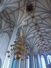"""Die beeindrucktende """"Decke"""" in der Peter-und-Paul-Kirche"""