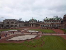 Frisch renoviert: der Zwinger in Dresden