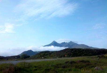 Die Cuillin Hills auf Skye