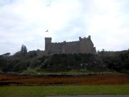 Dunvegan Castle auf Skye - sehr trutzig