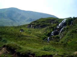 Wasserfall Nr. 83 irgendwo auf Skye