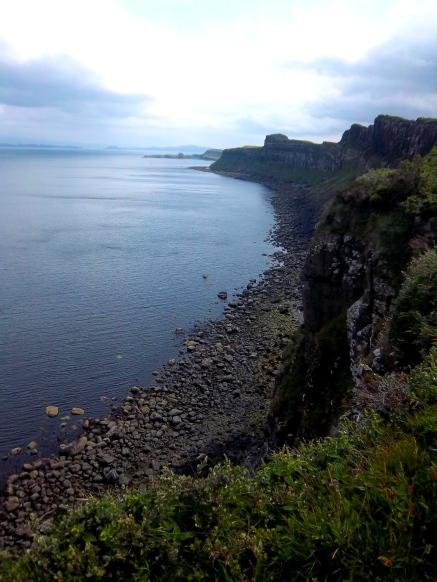 Am Kilt Rock (Blick nach rechts)