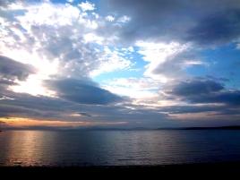 Abenddämmerung auf Orkney (ein weiterer Nachbearbeitungsversuch)