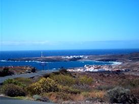 Blick auf die Casas el Faro