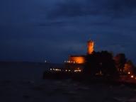 Und das Schloss nochmal bei windigem Wetter