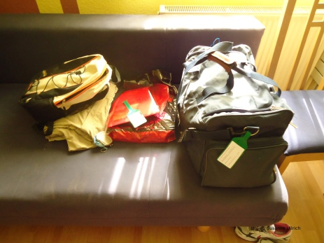 Mein Reisegepäck