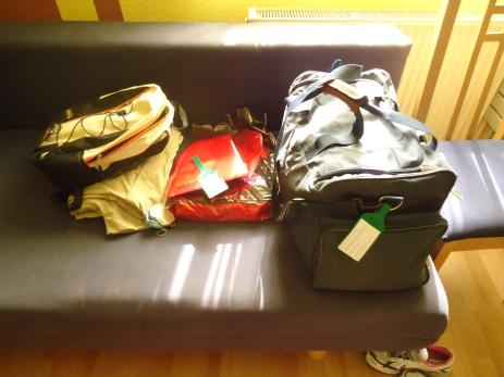 Mein schmales Reisegepäck
