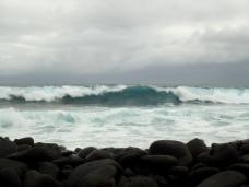 Der Pazifik scheint etwas ungehalten