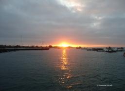 Sonnenuntergang in Puerto Ayora