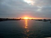 Endlich mal Sonnenuntergang