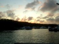 Sonnenuntergang in Puerto AyoraSanta Cruz