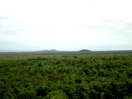 Blick vom Mirador del Mango ins Hochland