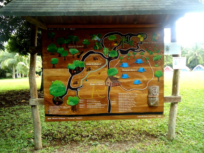 Arealübersicht der Eco-Lodge Campo Duro