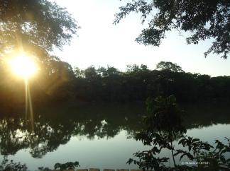 Der Rio Arajuno an der Liana Lodge