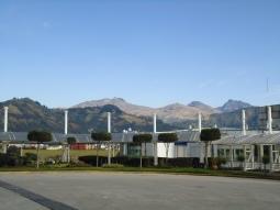Tolle Sicht auf die Bergkette der Anden