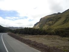 Im Gebirge unterwegs