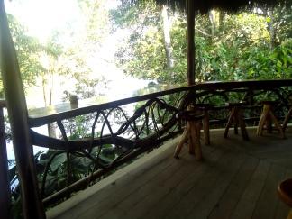 Letzter Rundgang und Fotoshooting der Liana Lodge