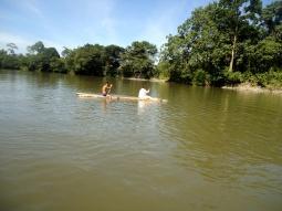 Los gehts, ein weiteres Mal den Rio Arajuno hinunter