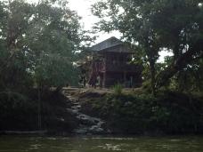Typisches Haus der dort lebenden Familien