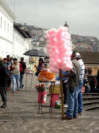 Zuckerwatteverkäufer