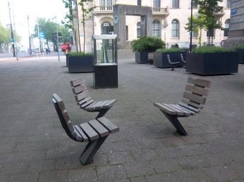 Sitzbänke für Einzelgänger