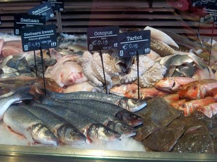 Klar, gibts auch frischen Fisch