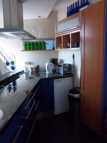 Im Kubushaus: Die Küchenzeile