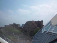Aussicht vom Dachzimmer des Kubushauses