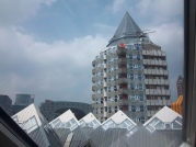 Ausblick auf die anderen Kubushäuser