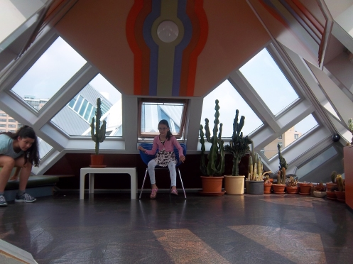 Das Dachzimmer im Kubushaus
