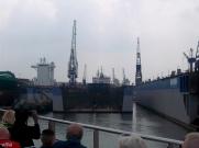 Schiff im Trockendock