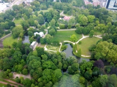 Park neben (unterhalb) dem Euromast