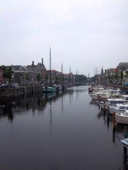 Kanal im historischen Delfshaven