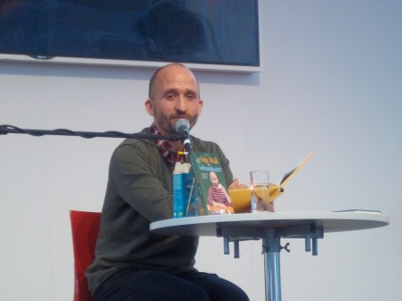 """Markus Barth liest aus seinem Buch """"Soja-Steak an Vollmondwasser"""""""