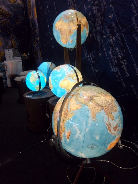 Schöne Globen