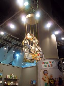 Hingucker Buchlampe
