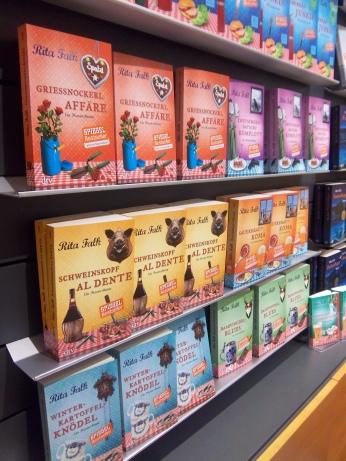So schön bunt: die Bücher von Rita Falk