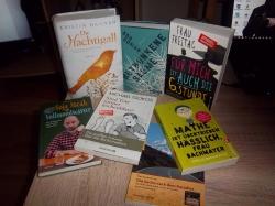 Meine Buchmesse-Ausbeute