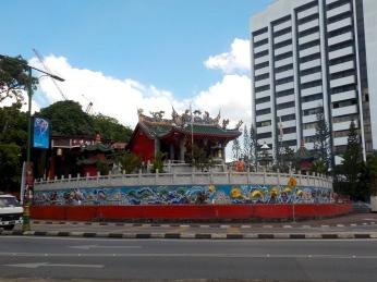 Der älteste chinesische Tempel in Kuching