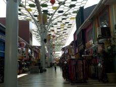 Die indische Shoppingmeile