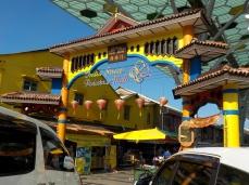 Eingang der indischen Shoppingmeile
